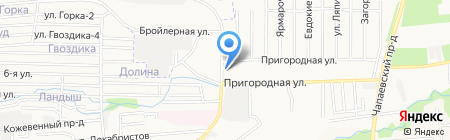 Fitness Club ORANGE на карте Ставрополя