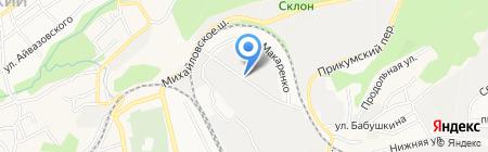 Дизайн-Отель Шампань на карте Ставрополя