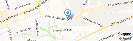 Северо-Кавказский независимый центр систем сертификации на карте Ставрополя