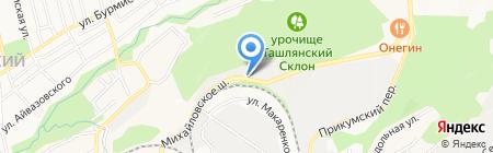 Стройхозторг на карте Ставрополя