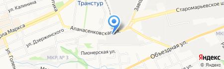 ДеМарка на карте Ставрополя