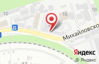 Схема проезда до компании Теплокомплект в Ставрополе