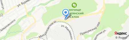 Став-Бассейн на карте Ставрополя
