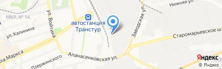 Стройстальпрокат на карте Ставрополя