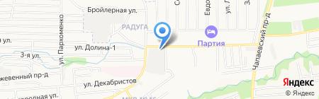 Ставптицеторг на карте Ставрополя