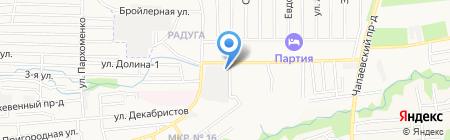 Радуга вкуса на карте Ставрополя