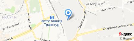 Хропаль-Авто на карте Ставрополя