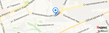 Центр сертификации электротехники на карте Ставрополя