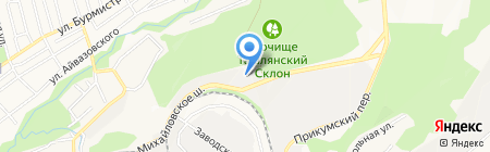 Садхана на карте Ставрополя