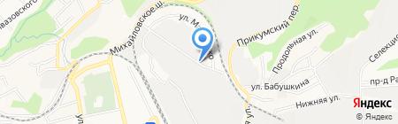 Мобильные конструкции на карте Ставрополя