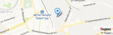 Кин Холдинг на карте Ставрополя