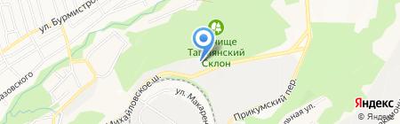 Баркас на карте Ставрополя