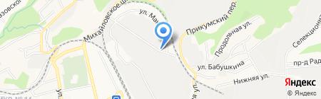 Оптовик-Кавказа на карте Ставрополя