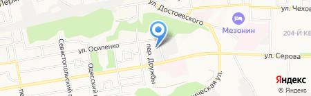 Калибр на карте Ставрополя
