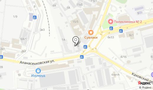 АВТО КИТАЙ. Схема проезда в Ставрополе