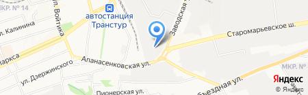 Грандстрой на карте Ставрополя