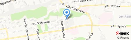 Салон сухой чистки подушек на карте Ставрополя