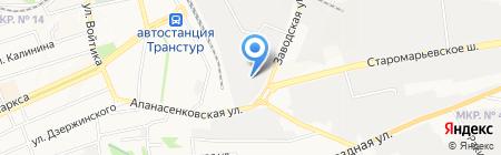 МИГОН на карте Ставрополя