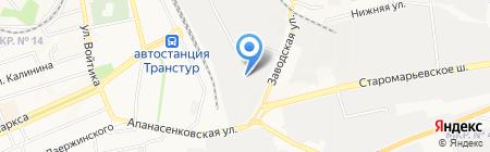 Берег на карте Ставрополя