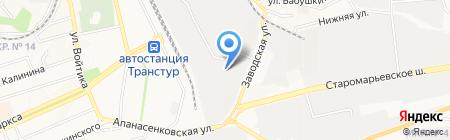 Юнайтед панел групп-Ставрополь на карте Ставрополя