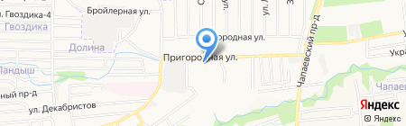 Русский двор на карте Ставрополя