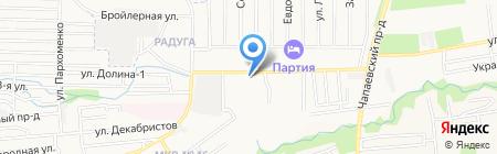 Зоомагазин на Демократическом проезде на карте Ставрополя