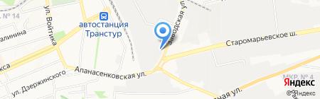 Ставхолдинг на карте Ставрополя