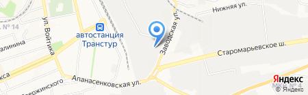 ШОКОЛАД на карте Ставрополя