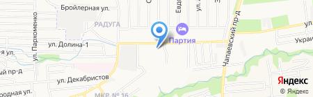 Магазин автозапчастей на карте Ставрополя