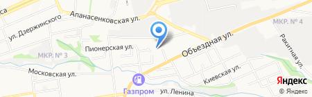 АСТ на карте Ставрополя
