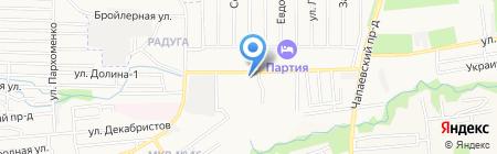 Магазин строительных и отделочных материалов на карте Ставрополя