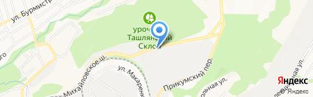 Цуканов А.И. на карте Ставрополя