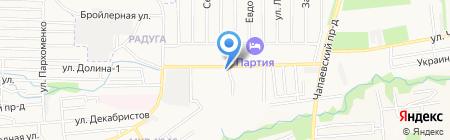 Светлячок на карте Ставрополя