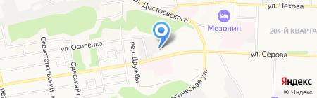 Титул на карте Ставрополя