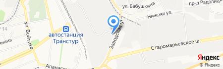 Баня и сауна на карте Ставрополя