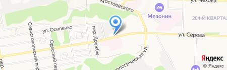 VIP-HOTEL на карте Ставрополя