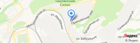 СтавКомплексСтрой на карте Ставрополя