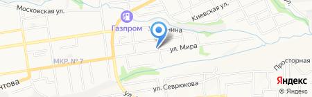 Аквилон на карте Ставрополя
