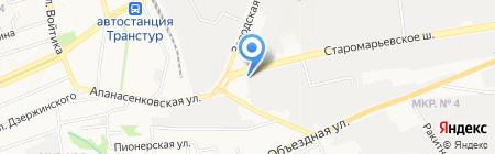 Спец Транс на карте Ставрополя