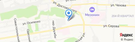 Орбита на карте Ставрополя