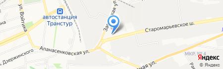 СБСВ-КЛЮЧАВТО АЦ-СТАВРОПОЛЬ на карте Ставрополя