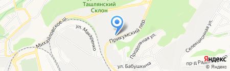 СПЕЦ на карте Ставрополя
