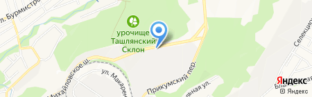 СтавПолистэр на карте Ставрополя