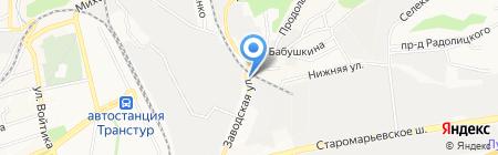 ПОЛИМИР на карте Ставрополя