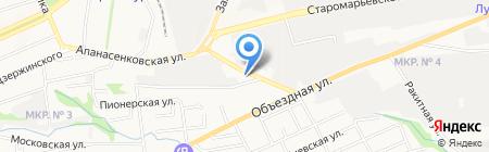 Магазин строительных материалов на карте Ставрополя