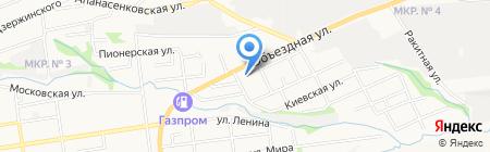 СЛАВЯНСКИЙ БАЗАР на карте Ставрополя