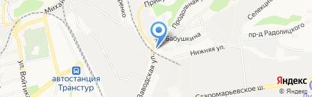 Мастерская по ремонту телевизоров на карте Ставрополя