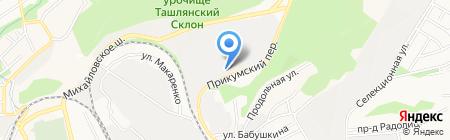 Проммонтаж на карте Ставрополя