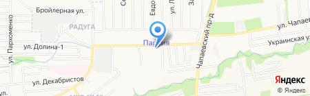 Автоград на карте Ставрополя