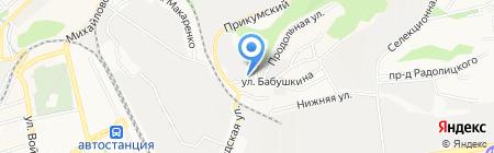 ЮГ-Мебель на карте Ставрополя